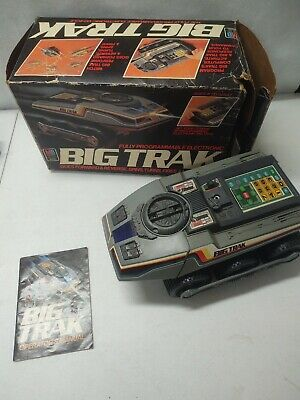 Vintage 1979 Milton Bradley Electronic BIG TRAK - Not tested box rare toy