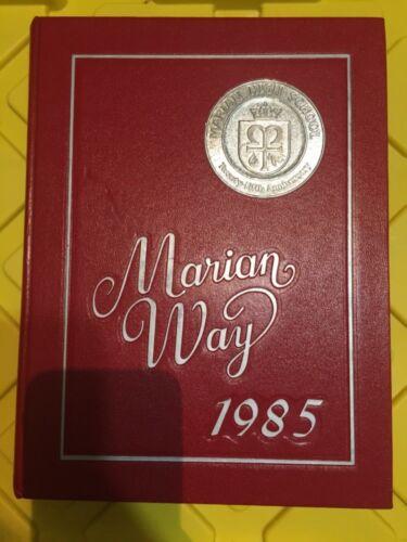 Marian Way Marian High School Yearbook
