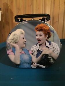 I Love Lucy Collectable Circular Tin Lunch Box