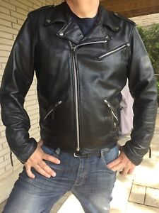 Men's leather Harley jacket
