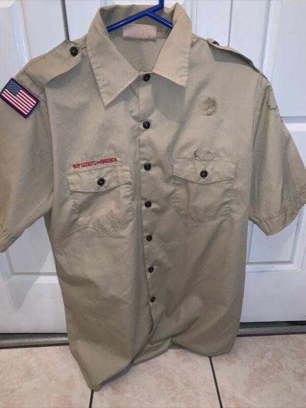Boy Scout BSA UNIFORM SHIRT Men