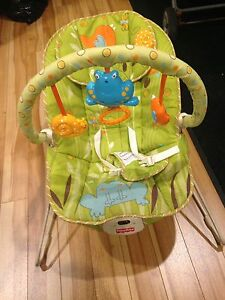 Fisher price vibrating & rocking chair