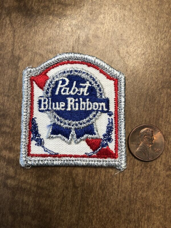 Vintage NOS Pabst Blue Ribbon Beer Patch  - FREE S/H
