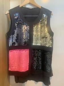 Sass & Bide Sequinned Women's T Shirt