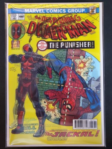 Despicable Deadpool #287 Lenticular Variant Signed Liefeld Marvel NM Comics Book