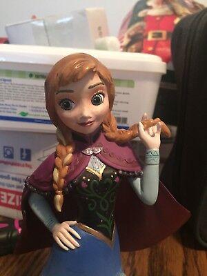 Disney Showcase Collection Grand Jester Studios Frozen ANNA Bust Figurine New!