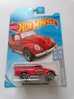 Hot Wheels'49 Volkswagen Beetle Pickup Red 2019 New