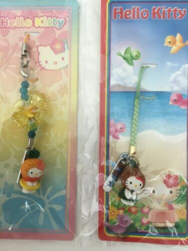 Sanrio Hello Kitty phone bag charm trinket lot