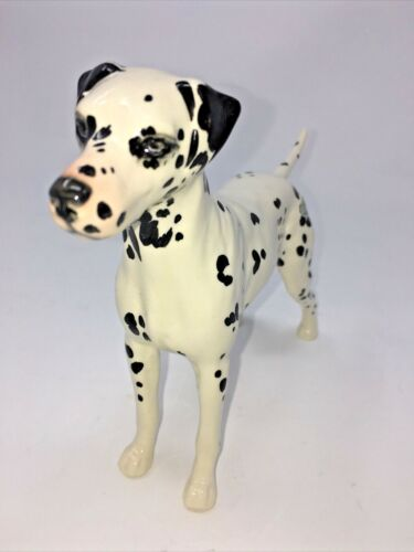 "Beswick England Large Dalmatian Dog Figurine  # 961 ""CH. Arnoldene"" Mint"