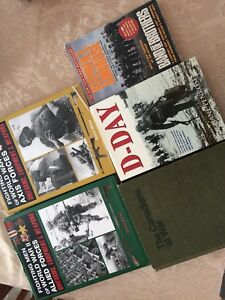 WWII Military History Book Collection