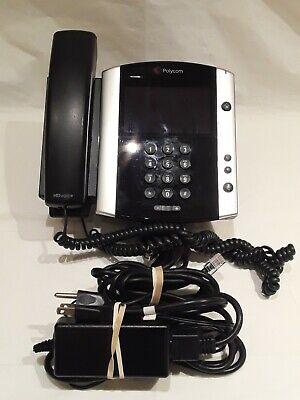Polycom Vvx600 Voip Sip Gigabit Business Phone 2201-44600-001