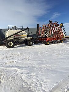 Bourgault air drill