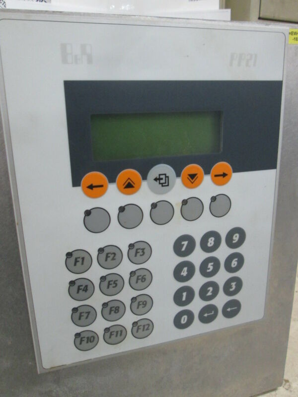 BR Automation Model PP21 4P0420.00-490 Monochrome LCD Operators Control Panel