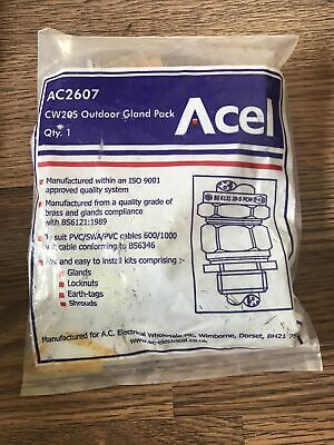 Acel AC2607 SWA Armoured Cable Gland Size 20s