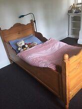 Antique Kauri Child's Sleigh Bed Pick up Mosman Mosman Mosman Area Preview