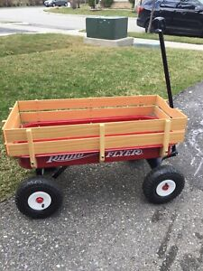 New Radio Flyer wagon