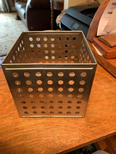 Vintage Stainless Steel Darkroom Basket