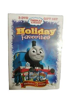Thomas The Tank Engine & Friends Christmas Holiday Favorites 3 DVD Set Sealed