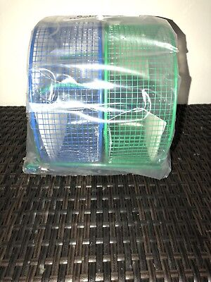 Prevue Pet Products Wire Mesh Hamster Exercise Wheel Toy 8 Inch Two Pack