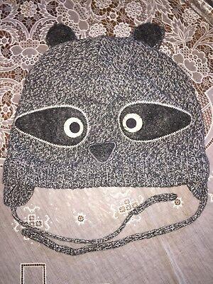 ütze mit Ohren Panda ? Bär Teddy (Waschbär Ohren)
