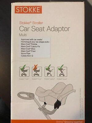 Stokke Stroller Car Seat Adaptor Multi Maxi Cosi Pebble Cabrio Mico Prezi Nuna