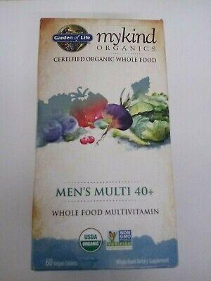 Garden of Life myKind Organics Men's Multi 40+ 60 Vegan