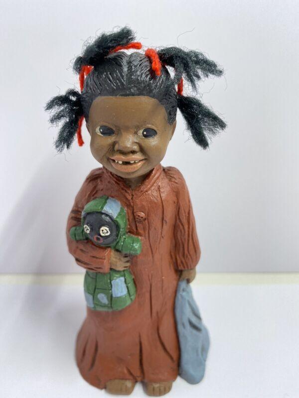 All Gods Children collectibles Prissy Yarn Hair Miss Martha Originals