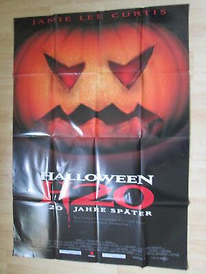 Filmplakat - Halloween H 20 (Jamie Lee Curtis)