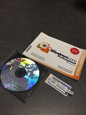 WINDOWS 2000 PROFESSIONAL ORIGINAL CD + COA Label gebraucht kaufen  Crottendorf
