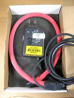 Aemc Ampflex Flexible Ac Current Probe 30300a 100mv10va - 00-24-2-10