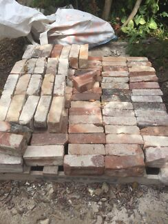 Free character bricks from home 100 ys old paving landscaping ideal