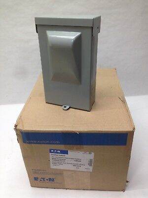 Eaton DPF221R Fusible Pullout AC Disconnect Switch 30A 120/240V 1PH Outdoor