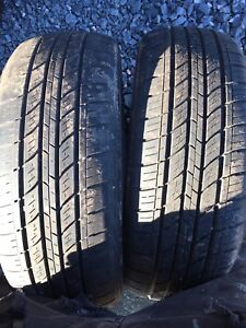 Two tires 225/60r17  $60 text 902 223 2108