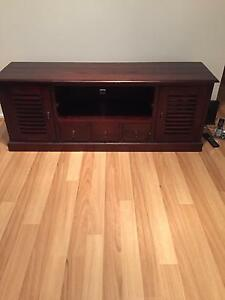 Bali tv cabinet wood Scarborough Stirling Area Preview