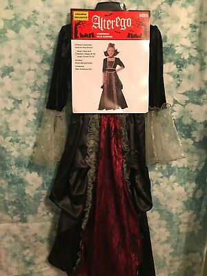 NWT GIRLS  ALTER EGO VAMPIRESS CHILD COSTUME~Med - Alter Ego Costumes