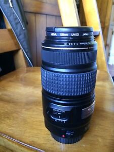Canon Ultrasonic Zoom Lens 75 -300 mm F4-5.6 image stabilizer