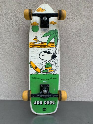 1971 Vintage Old School Nash Skateboard Peanuts Joe Cool Snoopy
