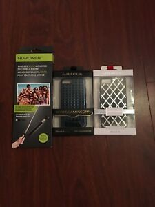 iPhone 6 Phone Cases and NuPower Wireless Selfie Stick