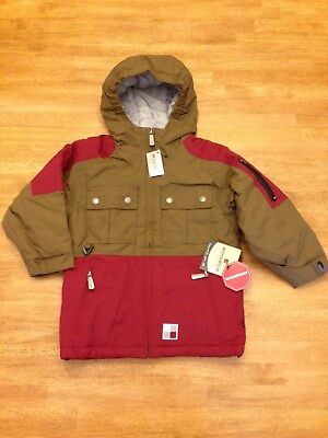 NWT Boys Original Winter Woolrich Canyon Parka Jacket Size S 4
