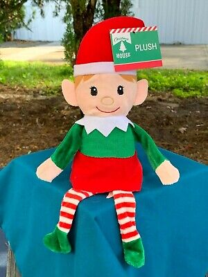 Elf Stuffed Animal (NEW Christmas House Elf 14