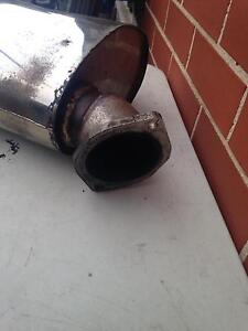 """3"""" stainless muffler Strathfield South Strathfield Area Preview"""