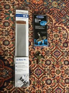 Pure sound snare drum wires and Evans magnetic drum keys