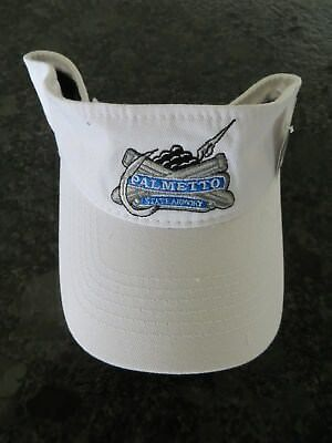 New Adjustable Size White Fishing Visor   Palmetto State Armory