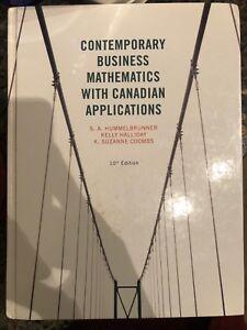 Contemporary Business Mathematics