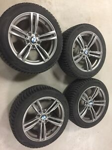 BMW replica winter tire set