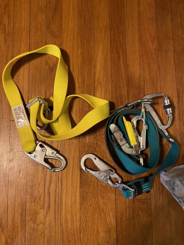 Buckingham 483D Bucksqueeze Lineman Fall Protection With Secondary Lanyard