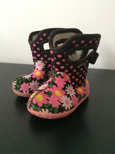 Baby girl bogs winter boots
