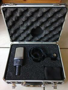 AKG C 214 Large Diaphragm Condenser Microphone Greenslopes Brisbane South West Preview