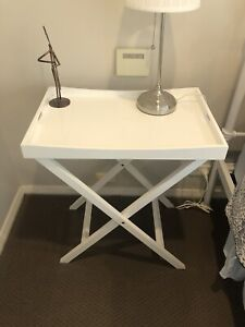 Clean and classic bedside tables x 2