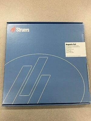 New In Box Struers Magnetic Foil For Md-system For 300mm Dia. 40800115